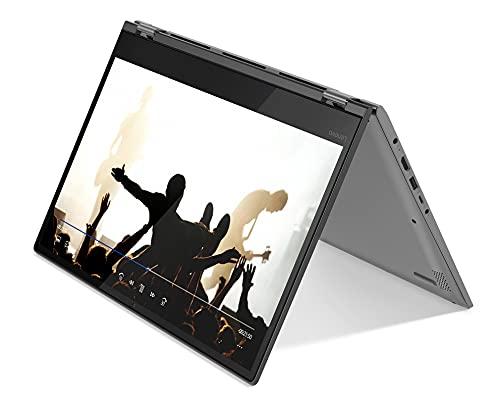 Lenovo Yoga 530-14ARR - Portátil Táctil Convertible de 14' HD (AMD Ryzen3 2200U, 4GB RAM, 128GB SSD, Windows 10) Negro - Teclado QWERTY Español