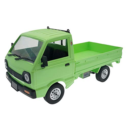 SunniMix Camiones RC 4WD para Adultos Coches RC Impermeables Coches de Alta Velocidad de Control Remoto para niños niñas 1:10 en Carretera vehículos RC para - 1 Battery