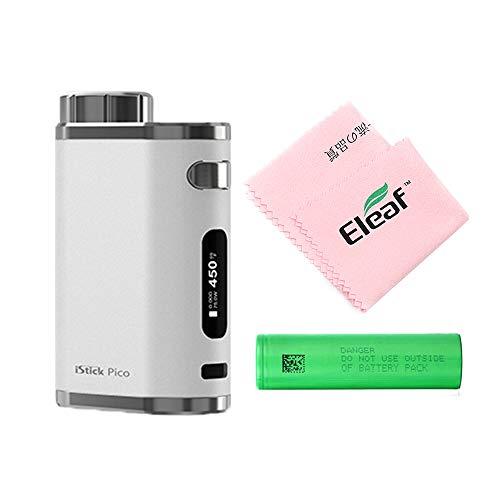 電子タバコ/ベイプ/Vape 本体 Eleaf iStick Pico 75W MOD【イーリーフ アイスティック ピコ モッズ 】+ Eleaf クリーニングクロス 18650 + バッテリー 付き