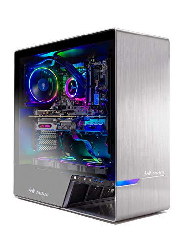 Skytech Legacy Gaming Computer PC Desktop – Ryzen 7 3700X 3.6GHz, RTX 2070 Super 8G, 500GB SSD, 16GB DDR4 3000MHz, RGB Fans, Windows 10 Home 64-bit, 120mm AIO Cooler, 802.11AC Wi-Fi