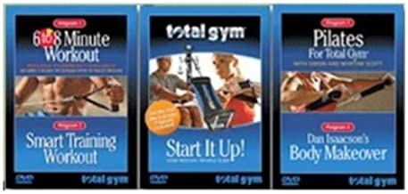 Total Gym Complete Fitness 3 Set DVD by Total Gym