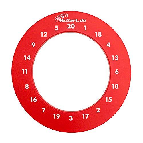 McDart HD Zahlen Surround (Rot)