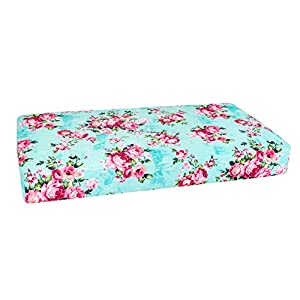 Posh Peanut Fitted Crib Sheet, Soft Viscose from Bamboo Fabric, Standard Crib and Toddler Mattresses 52″ by 28″ (Jackson Cacti)