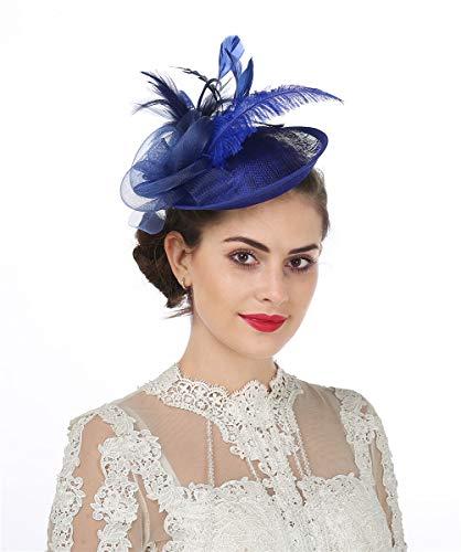 donna giorno razza Royal Ascot Piccolo Fiore Elegante a Clip Fascinator con Cappello Matrimonio
