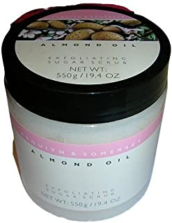 Asquith & Somerset Almond Oil Exfoliating Sugar Scrub - 19.4 oz