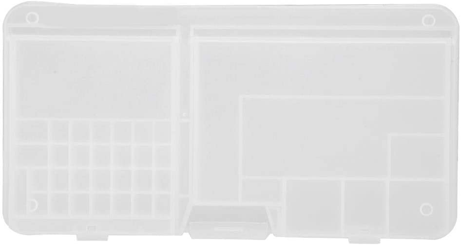 Phone Motherboard Case Component Organizer Container, for The Storage of Screws, Components, Beads, etc, Portable Storage Box Tool, Transparent Box