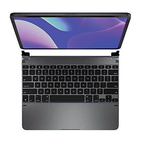 Brydge Pro 12.9 Keyboard for iPad Pro 12.9 inch 3rd Generation 2018 Model   Aluminum Wireless Bluetooth Keyboard with Backlit Keys   Long Battery Life   (Space Gray)