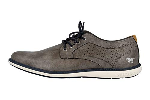 MUSTANG Shoes Halbschuhe in Übergrößen Grau 4111-302-20 große Herrenschuhe, Größe:48