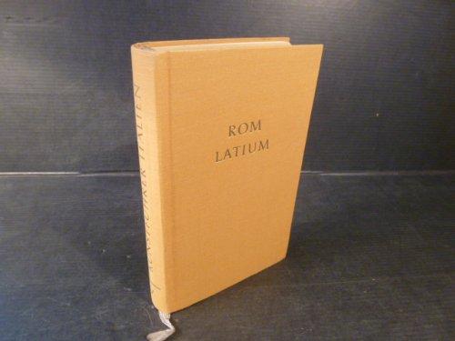 Reclams Kunstführer. Italien?Bd. 5. Rom und Latium. Bearb. von Anton Henze