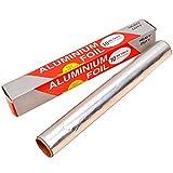 Carta Stagnola - WENTS 3PCS Imballaggi in Alluminio di Qualità per Alimenti di Qualità per Cottura e Cottura, Carta Antiaderente e Fogli Isolanti, Riutilizzabili(10M*30Cm)