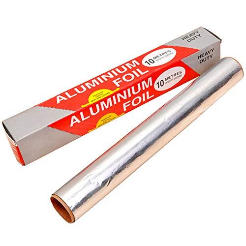 Carta Stagnola - WENTS 3PCS Imballaggi in Alluminio di Qualità per Alimenti di Qualità per Cottura e Cottura, Carta Antiaderente e Fogli Isolanti,...