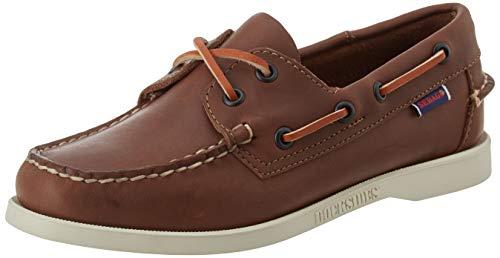 Sebago Docksides Portland W, Women's 7000530 Boat Shoes (Brown 900) 4 UK, 37 EU