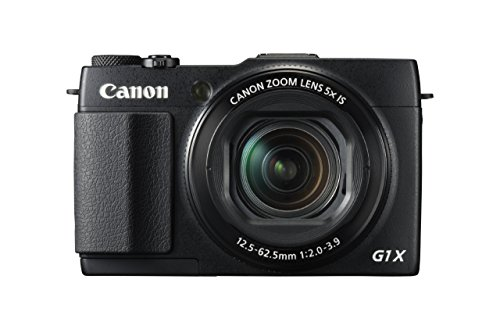 Canon PowerShot G1 X Mark II Digital Camera - Wi-Fi Enabled (Renewed)