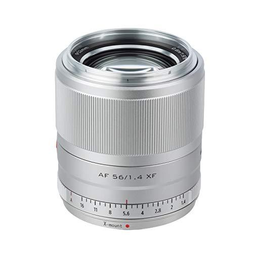 VILTROX 単焦点レンズ AF XF-56mm F1.4 STM 瞳AF対応 F1.4大口径 富士フイルム Fujifilm Xマウント交換レンズ 軽量 柔らかいボケ味 スナップ/風景/建築/夜景/ポートレート撮影 X-Pro1/Pro2/X-Pro3/X-S10/T2/T3/X-T4/T20/T200/X-E3/X-H1/X-M1/X-A1/X-A2/X-A7/X-A10/X-A20/X-E1などのカメラに適用 日本語取扱説明書