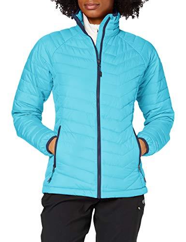 Columbia Wasserabweisende Winterjacke für Damen, Powder Lite Jacket, Polyester, blau (atoll), Gr. S, WK1498