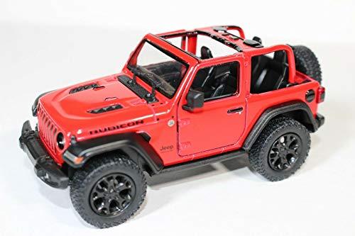 2018 Jeep Wrangler Rubicon No Top Red - Kinsmart P/B