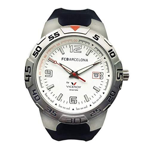 Reloj Viceroy 43753-05 Reloj Oficial del F. C. Barcelona con Calendario y Correa de Caucho