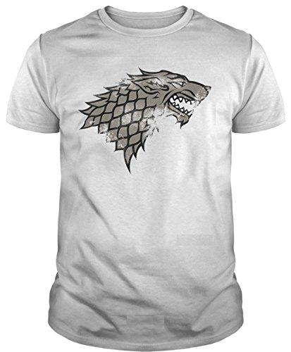 The Fan Tee Camiseta de Hombre Juego de Tronos Stark Lanister Targaryen Jon Nieve Arya Coming 4XL