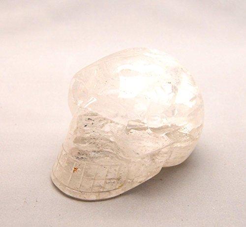 Preisvergleich Produktbild Kristallschädel XXL aus Bergkristall ca. 10 x 7 x 7 cm strahlend-schön ca. 700g