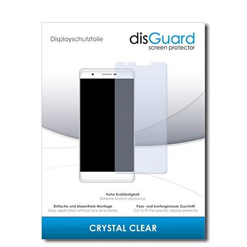 disGuard® Bildschirmschutzfolie [Crystal Clear] kompatibel mit Phicomm Passion 2S [3 Stück] Kristallklar, Transparent, Unsichtbar, Extrem Kratzfest, Anti-Fingerabdruck - Panzerglas Folie, Schutzfolie