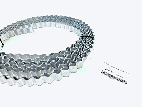 10m x 20mm Wellenband Verzinkt Bauwellenband Wellenbandeisen