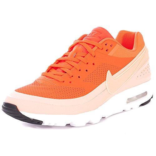 Nike W Air MAX BW Ultra, Zapatillas de Deporte para Mujer, Naranja (Brght Crmsn/ATMC Pnk-White-Blk), 37 1/2 EU EU