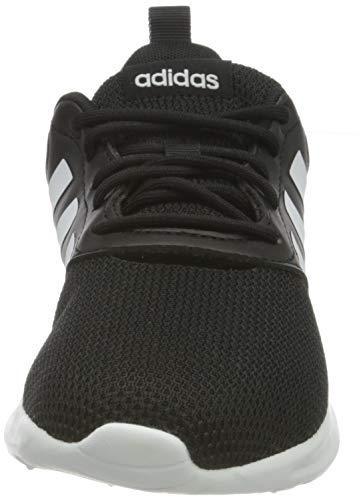 adidas QT Racer 2.0, Zapatillas de Running Mujer, NEGBÁS/FTWBLA/Gricin, 38 2/3 EU