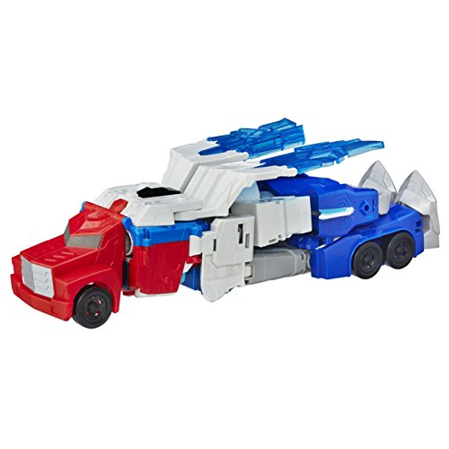 Transformers: Robots in Disguise Power Surge Optimus Prime et Aerobolt