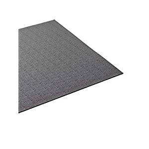Supermats Heavy Duty Equipment Mat 13GS-GRAY Made in U.S.A. for Indoor Cycles Exercise Bikes and Steppers Color Gray (2.5 Feet x 5 Feet) (30-Inch x 60-Inch) (76.2 cm x 152.4 cm)