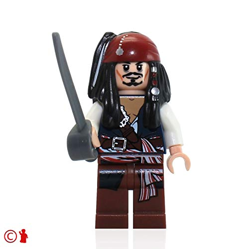 Jack Sparrow Lego Pirates of the Caribbean Minifigure by LEGO