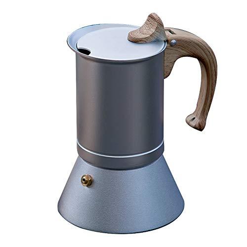 MAATCHH Mocha Pot Espresso Cafetera nórdica Moka Pot Comestible de Aluminio del hogar máquina de...