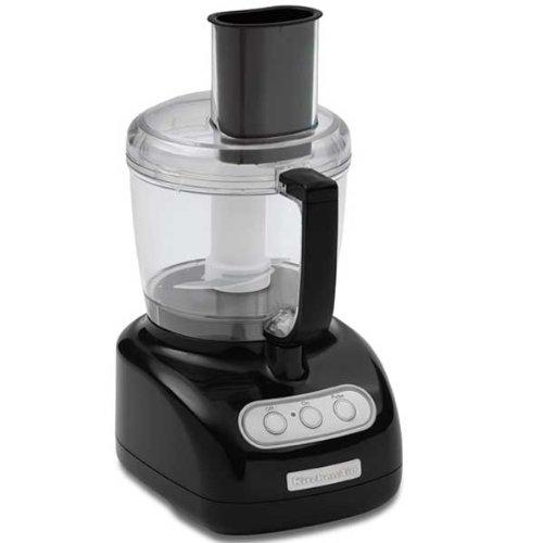 KitchenAid Food Processor RKFP710OB, 7-Cup, Onyx Black, (Certified Refurbished)