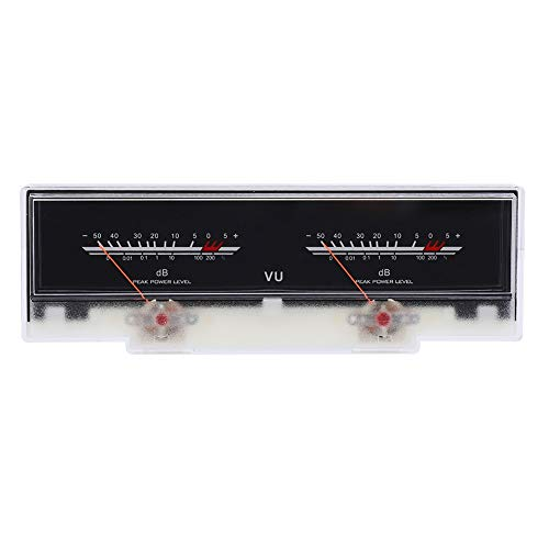 VU Audio Meter, VU Meter ad alta precisione, strumento portatile per apparecchiature audio per il fai da te