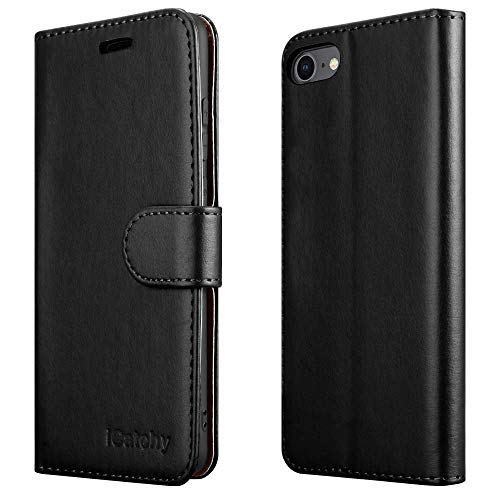 iCatchy For iPhone SE 2020 Case, iPhone 8 Case iPhone 7 Case Leather Wallet...