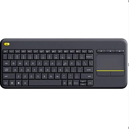 SHYPT Multimedia Silencio Wired Keyboard Teclado for Juegos ratón, USB ergonómico del Resto de muñeca del Teclado, Gamer Escritorio, Ordenador programable funcionalidad de Macro