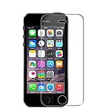 WEOFUN [3 Unidades iPhone se/iPhone 5s 5c 5 Protector de Pantalla,Cristal Templado para iPhone 5s 5c 5