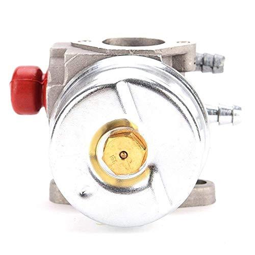 Compatible con carburador OHH45 OHH50 5HP 5.5HP 6HP 6.5HP OHH OHV de repuesto para tornillos de carburador de motocicleta (Color: Plata)