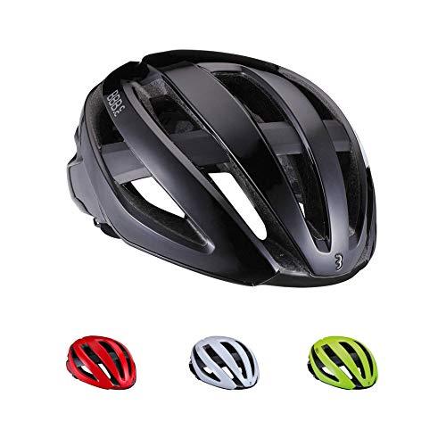 BBB Cycling Unisex-Adult Fahrradhelm Maestro | Damen und Herren | Airflow Cooling System Lightweight | Rennrad und E-Road | BHE-09 | Glänzend Schwarz M (55-58cm)