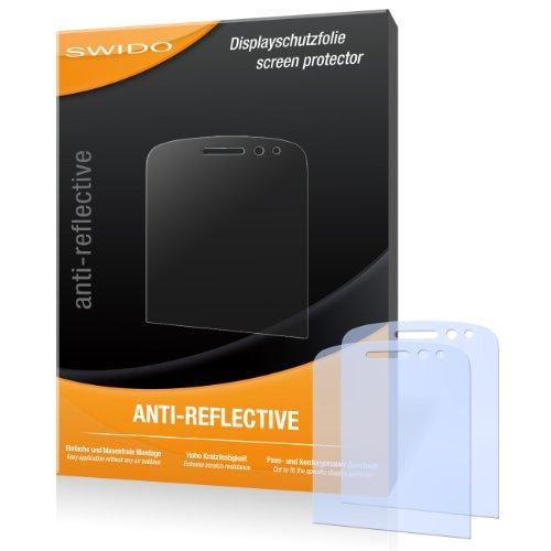 SWIDO Bildschirmschutz für BlackBerry Q10 [4 Stück] Anti-Reflex MATT Entspiegelnd, Hoher Festigkeitgrad, Schutz vor Kratzer/Glasfolie, Schutzfolie, Bildschirmschutzfolie, Panzerglas Folie