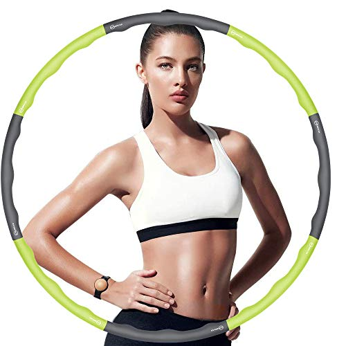 weighted exercise hoop for adults