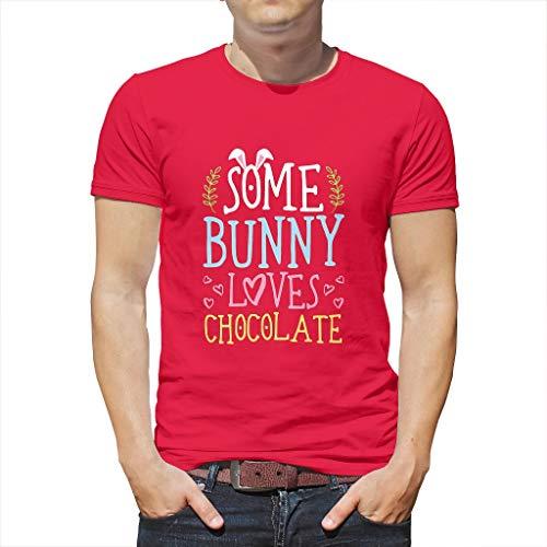 Unisex Kurzärmliges T-Shirt Rundhals T-Shirt s für Männer und Frauen mred 3XL