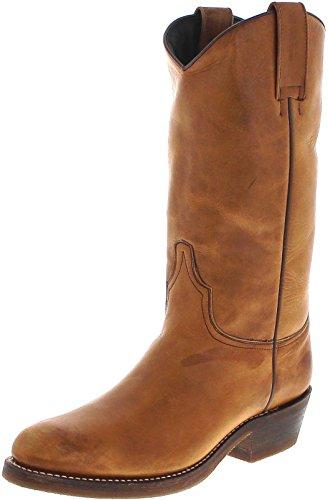 Sendra Boots Damen Cowboy Stiefel 14947 Westernstiefel mit Thinsulate Isolierung Braun 40 EU