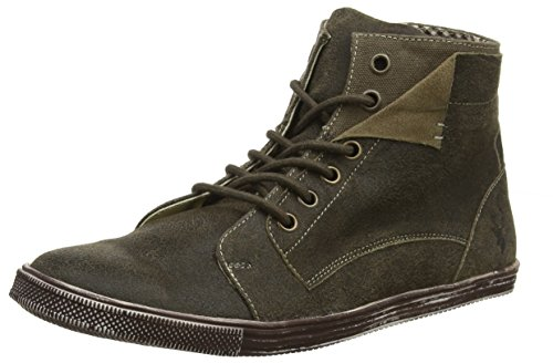 Spieth & Wensky Herren 546 H Jörg Hohe Sneaker, Braun (Russ/D, Braun 5090), 42 EU
