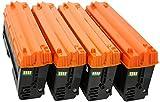 TONER EXPERTE® SPC220E 4 Cartuchos de Tóner compatibles para Ricoh Aficio SP C220N C220S C221SF C222DN C222SF SPC240DN C240SF | 406094 406097 406099 406106 2000 páginas