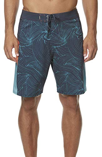 O'Neill Herren Hyperfreak Swim Boardshort 19 Zoll Outseam - blau - 44