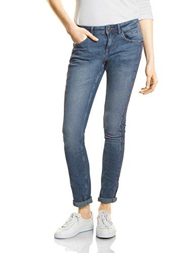 Street One Damen Slim Jeans 371211 Jane, Blau (Mid Blue Authentic Wash 11305), W31/L30