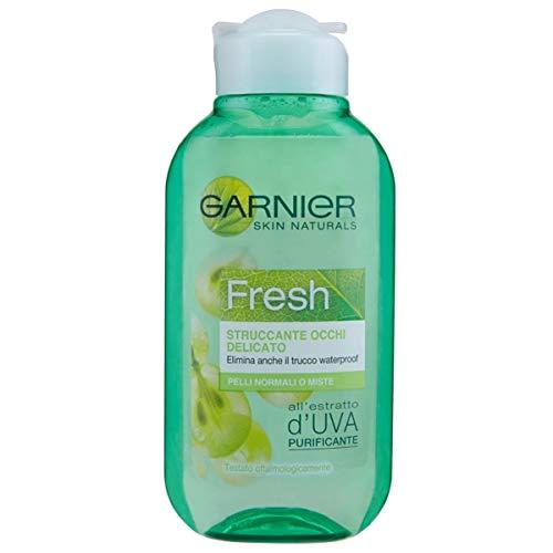 Garnier Fresh Struccante Occhi Delicato per Pelli Normali o Miste, 125 ml