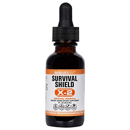 Survival Shield X-2 Nascent Iodine - 1796% of RDA 1fl.oz.