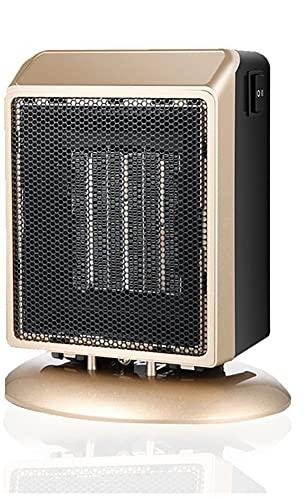 XWZ Calentador eléctrico de 900 vatios, Calentador de cerámica PTC, radiador de Espacio Personal, Calentador de Aire Caliente de Invierno, Ventilador de calefacción de habitación