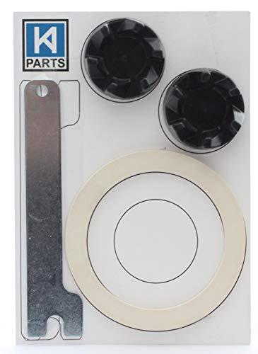 Zwei schwarze Ersatzgummikupplungen (AKA-Kupplung oder Kupplung) für einen...